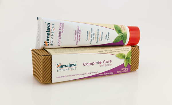 Crema dental sin fluor