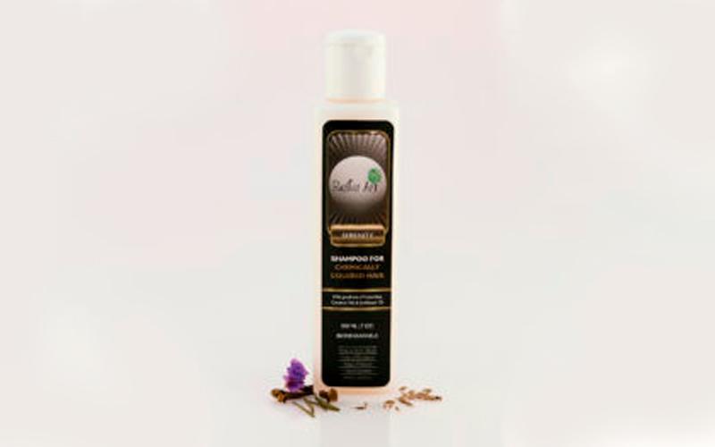 Shampoo de coco biodegradable para hombres amigable con el medio ambiente