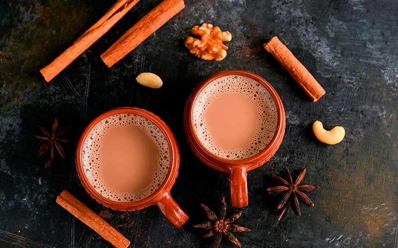 Receta Ayurveda  té chai