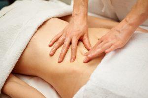 masaje para la digestión
