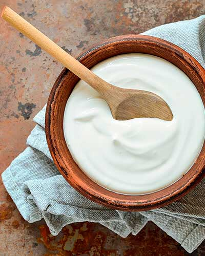 Yogurt griego para colon irritable