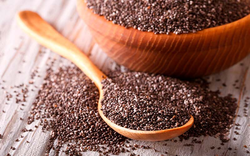 Recetas con semillas de chía