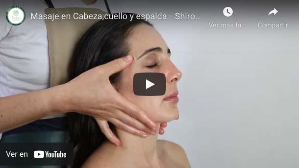 Terapia Shiroabhyanga - masaje de cuello y espalda