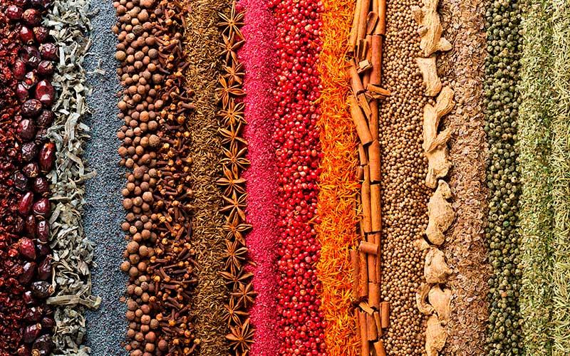 Las especias en Ayurveda como remedios naturales