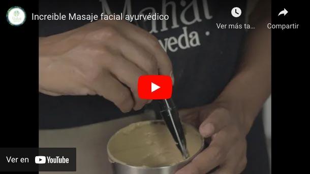 Masaje facial Ayurveda