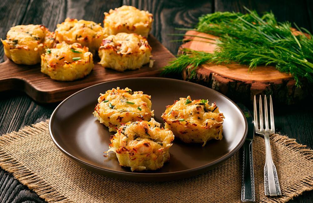 Muffins de batata