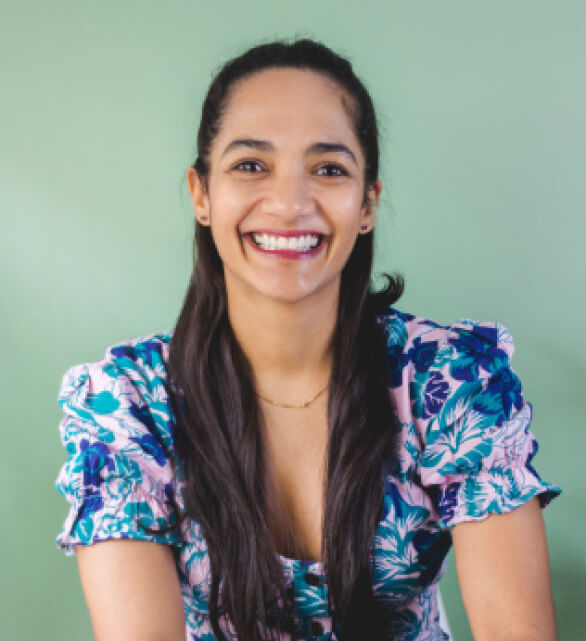 Rosana Cotes creadora del recetario de postres Ayurvédicos