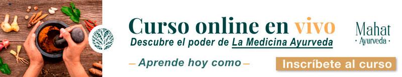 Curso de Medicina Ayurveda online